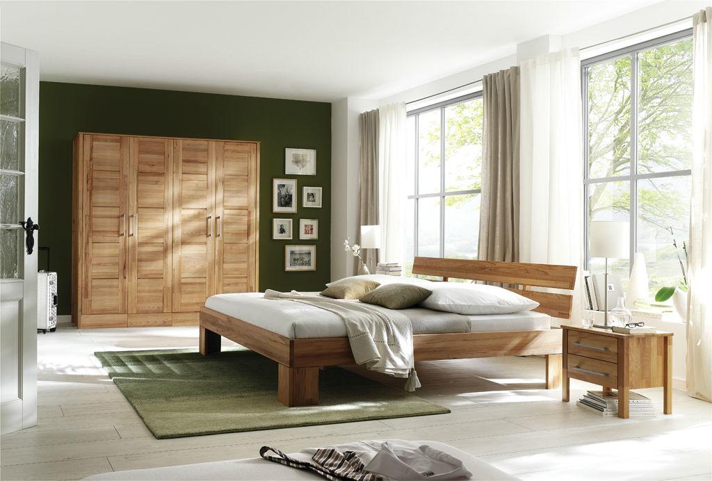 Kleiderschrank Modern Zen aus Massivholz mit Kassettentüren, Bild 4