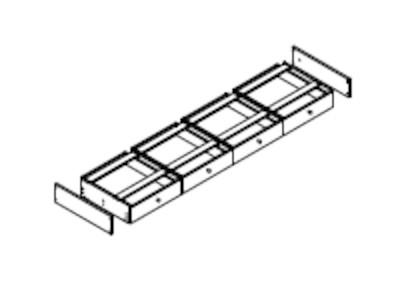 Kleiderschrank Modern Zen aus Massivholz mit Kassettentüren, Bild 14