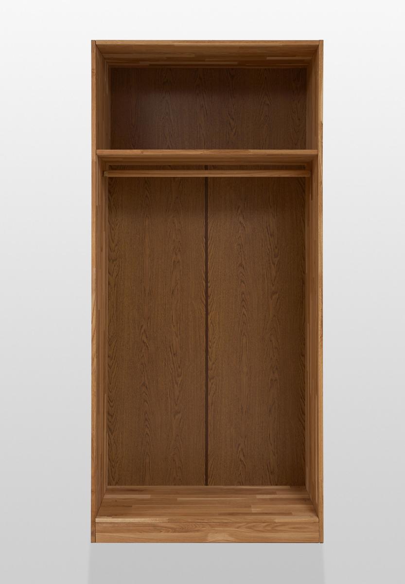 Kleiderschrank Wildeiche Massiv Schlafzimmer NECST, Bild 3