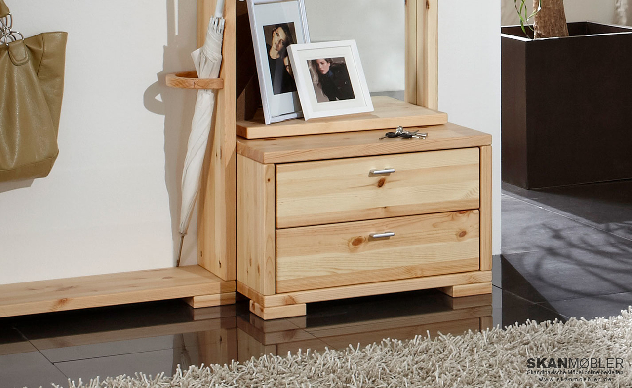 kommode f r garderobe guldborg von pinus g nstig bestellen skanm bler. Black Bedroom Furniture Sets. Home Design Ideas