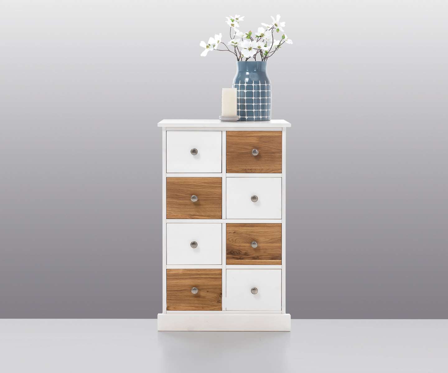 kommode svenja kiefer eiche massiv von elfo g nstig bestellen skanm bler. Black Bedroom Furniture Sets. Home Design Ideas