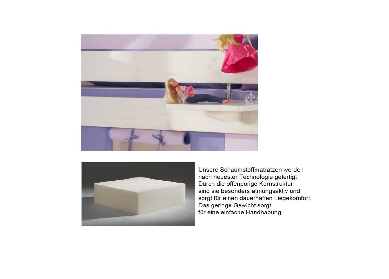 Dolphin Kinderzimmer Halbhochbett Lavendeltraum, Bild 10