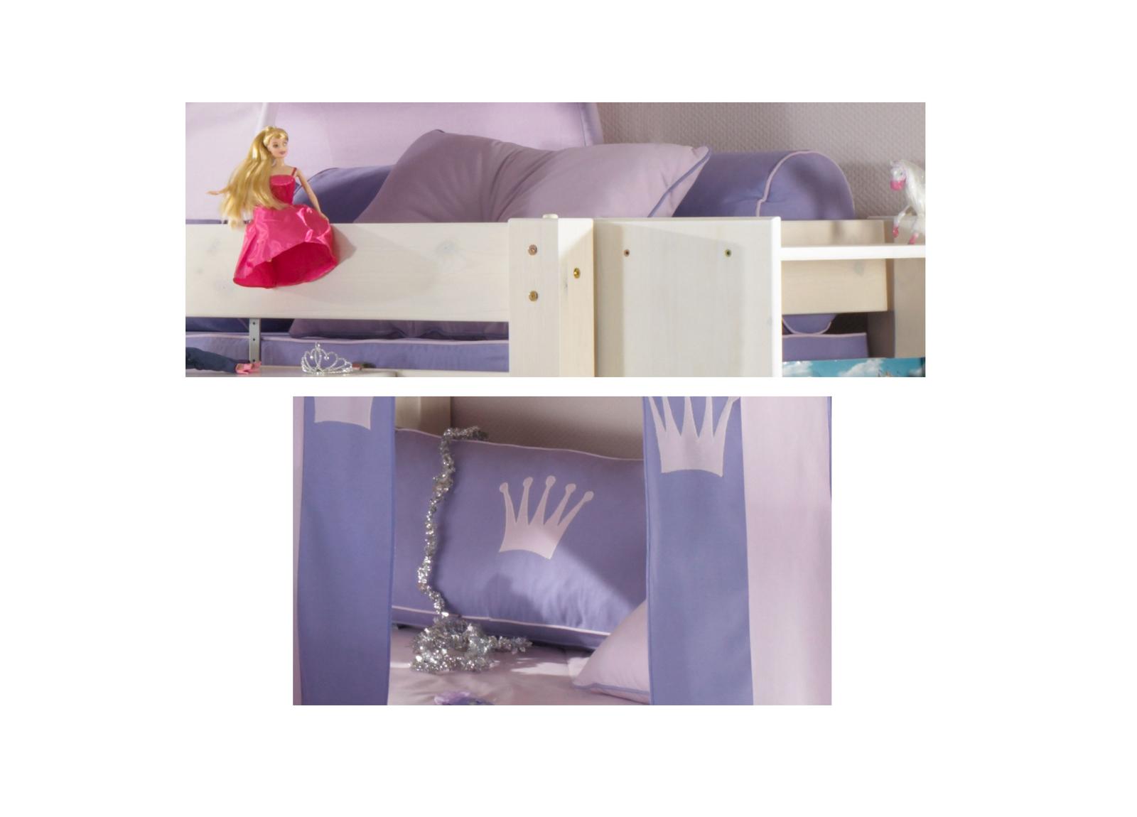 Dolphin Kinderzimmer Halbhochbett Lavendeltraum, Bild 11