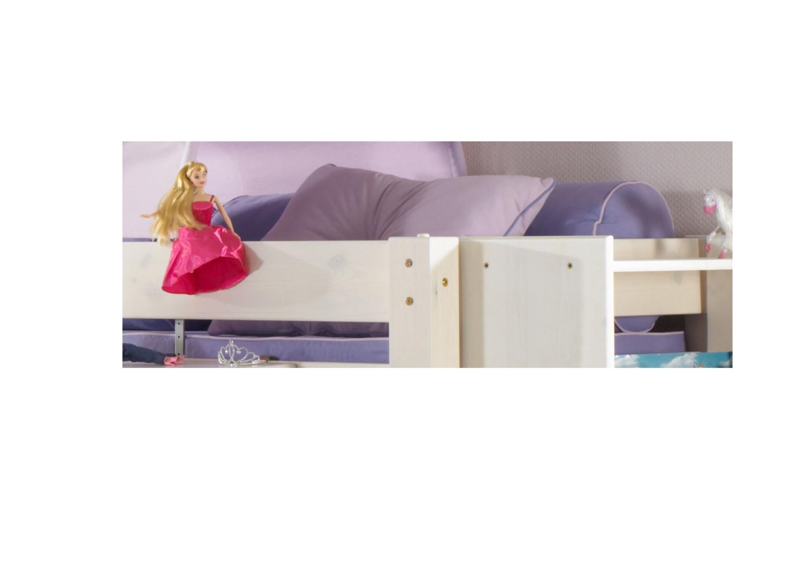 Dolphin Kinderzimmer Halbhochbett Lavendeltraum, Bild 12