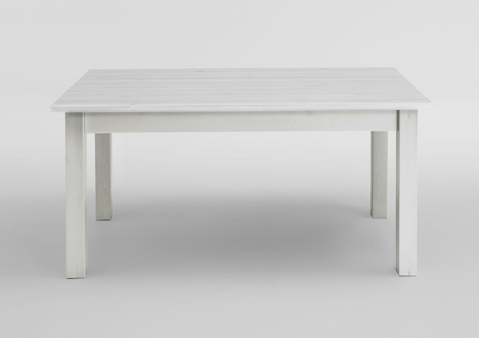 Genial Esstisch Massivholz Weiß Dekoration Von Weiss