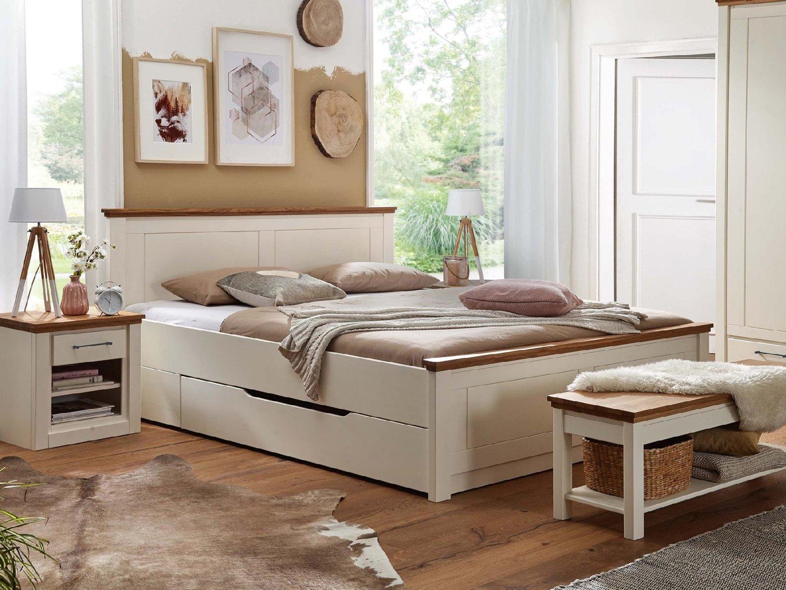 Massivholz Schlafzimmer Kiefer Blavand, Bild 2