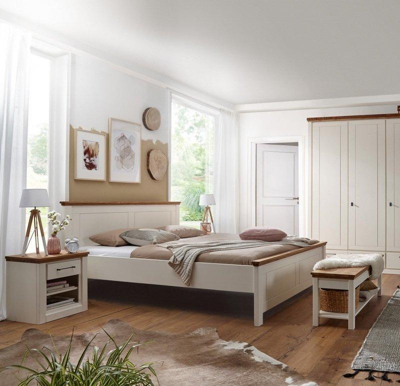 Massivholz Schlafzimmer Kiefer Blavand, Bild 3