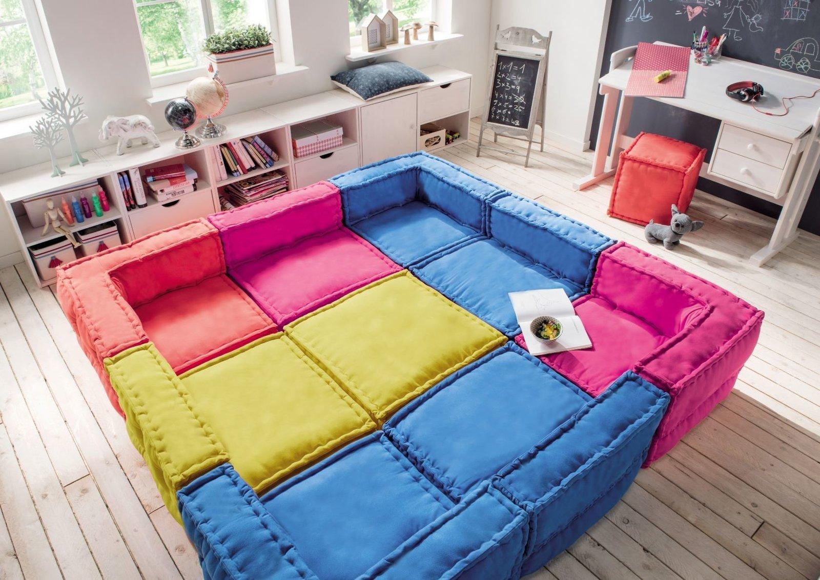 My Cushion Eck-Sitzkissen mit Lehne für Kids, Bild 5
