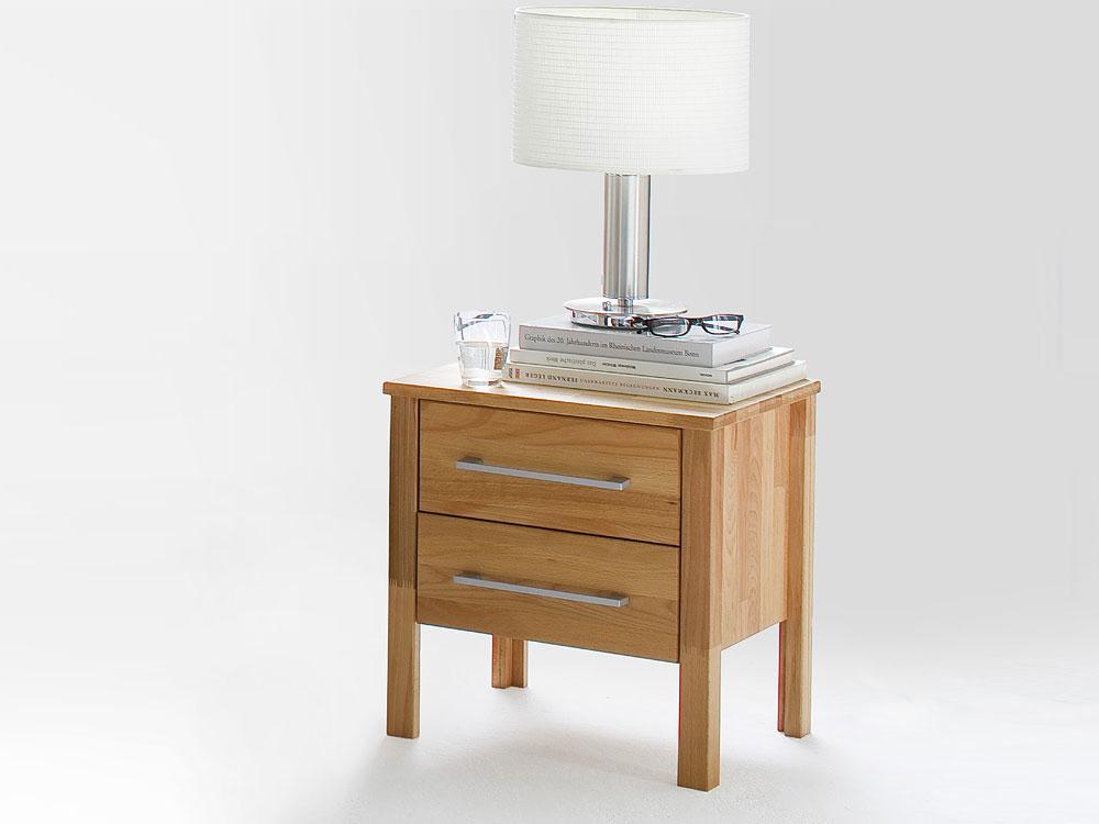 Nachttisch Kommode Massivholz Modern Zen