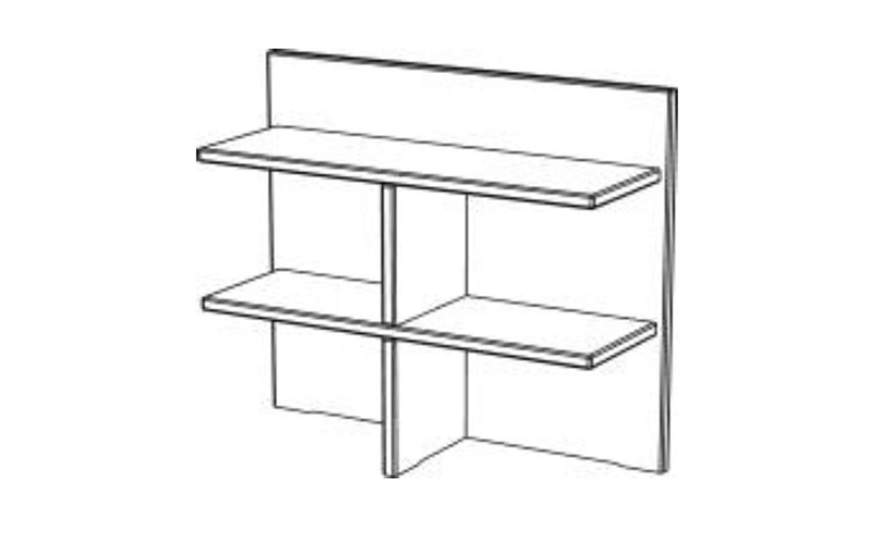 regal f r wickelkommode guldborg von pinus g nstig bestellen skanm bler. Black Bedroom Furniture Sets. Home Design Ideas