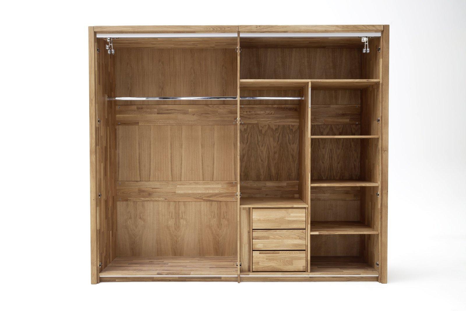 Schlafzimmer Daina Wildeiche Massivholz, Bild 3