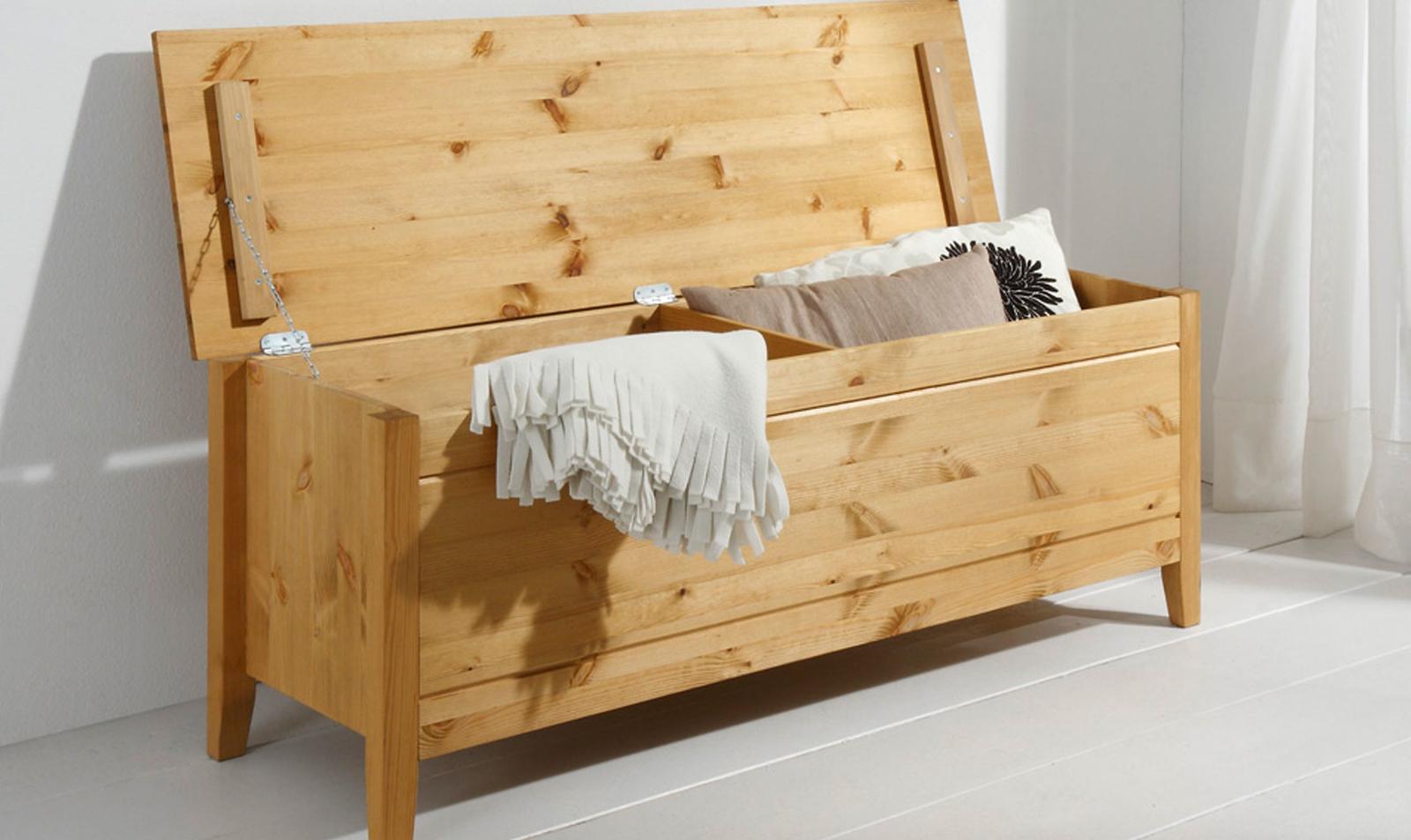 Schlafzimmer Dora Kiefer massiv gelaugt geölt, Bild 9