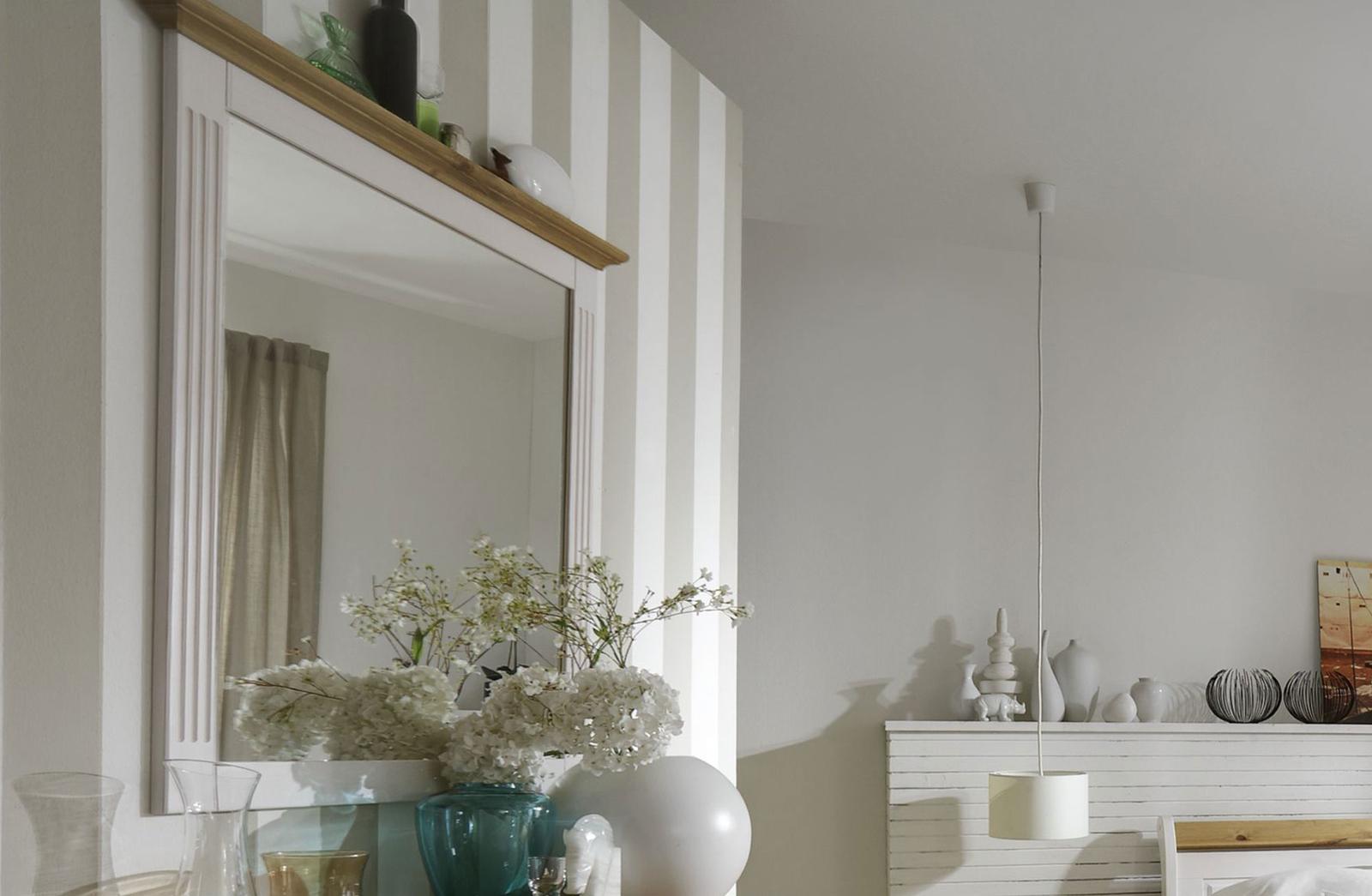 Schlafzimmer im Landhausstil Eva weiß gelaugt geölt, Bild 9