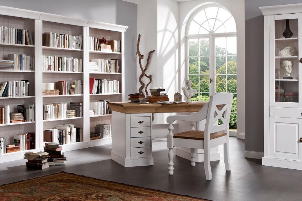Schreibtisch Bergen Landhausstil, Bild 5