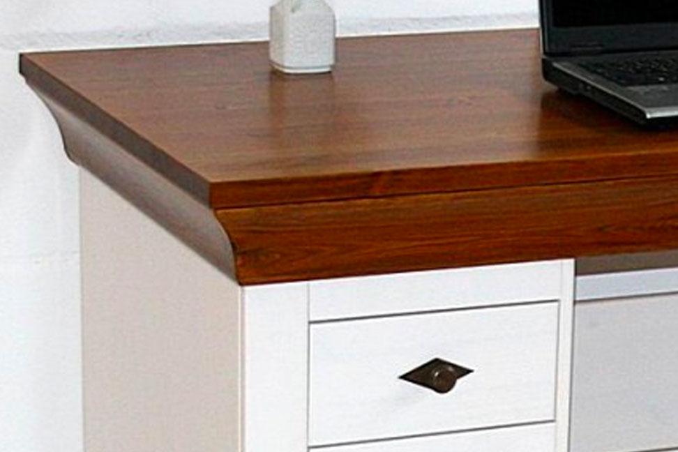 schreibtisch bergen landhausstil von jumek g nstig bestellen skanm bler. Black Bedroom Furniture Sets. Home Design Ideas