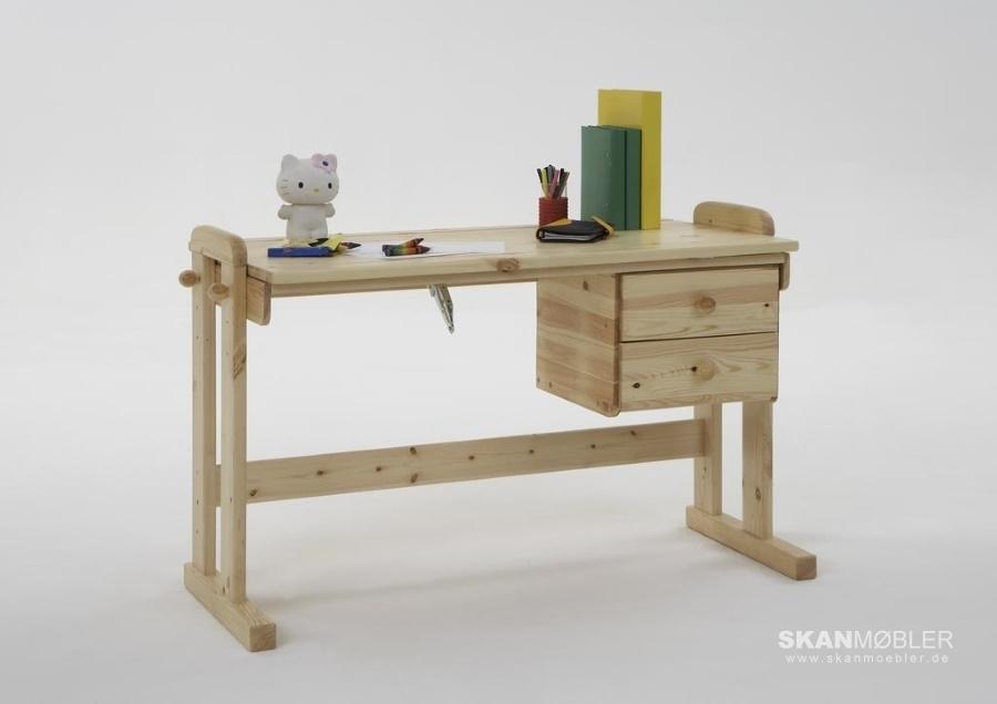 schreibtisch h henverstellbar von moby g nstig bestellen skanm bler. Black Bedroom Furniture Sets. Home Design Ideas