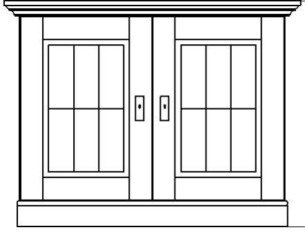 Sideboard Fjord mit 2 Türen, Bild 2