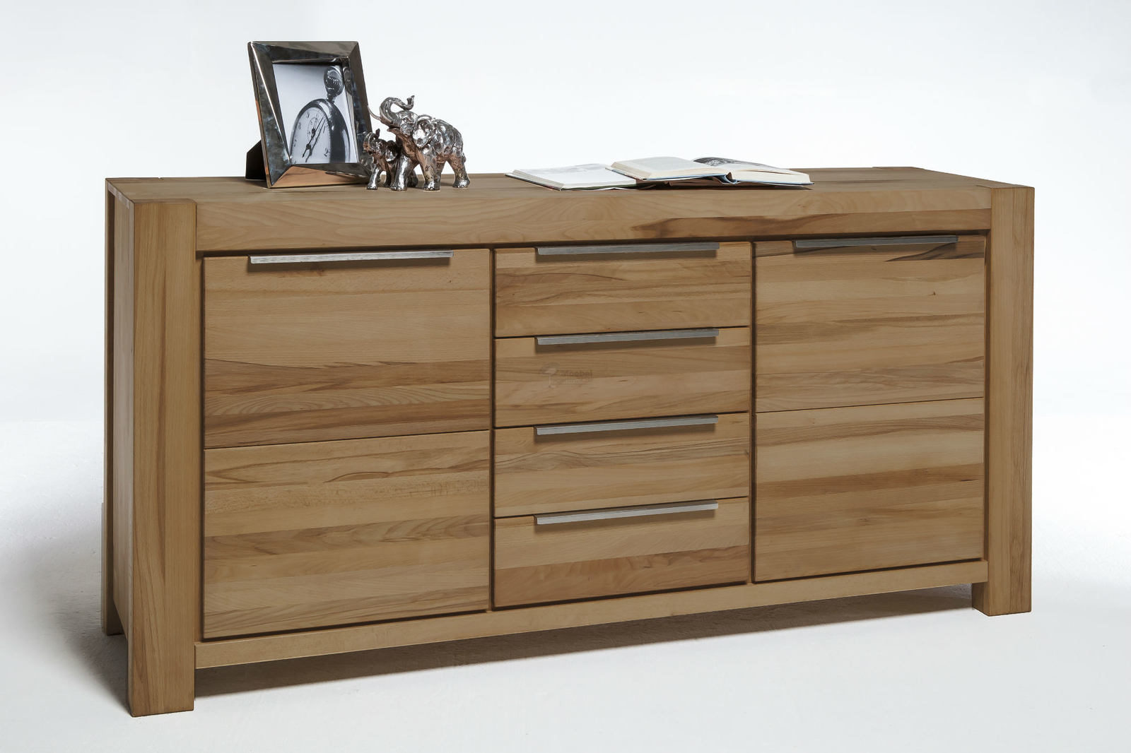 sideboard nena massivholz mit 4 schubladen von elfo g nstig bestellen skanm bler. Black Bedroom Furniture Sets. Home Design Ideas