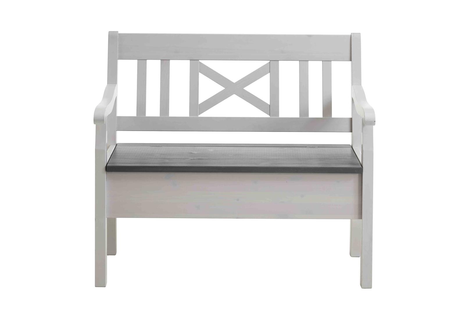 Sitzbank Fjord 105 cm mit Armlehnen, Bild 2