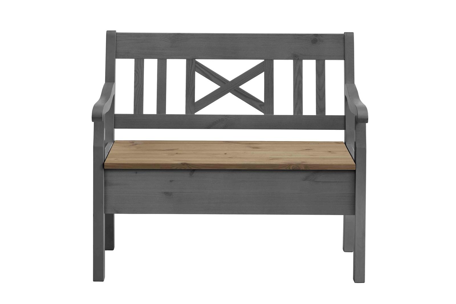 Sitzbank Fjord 105 cm mit Armlehnen, Bild 8