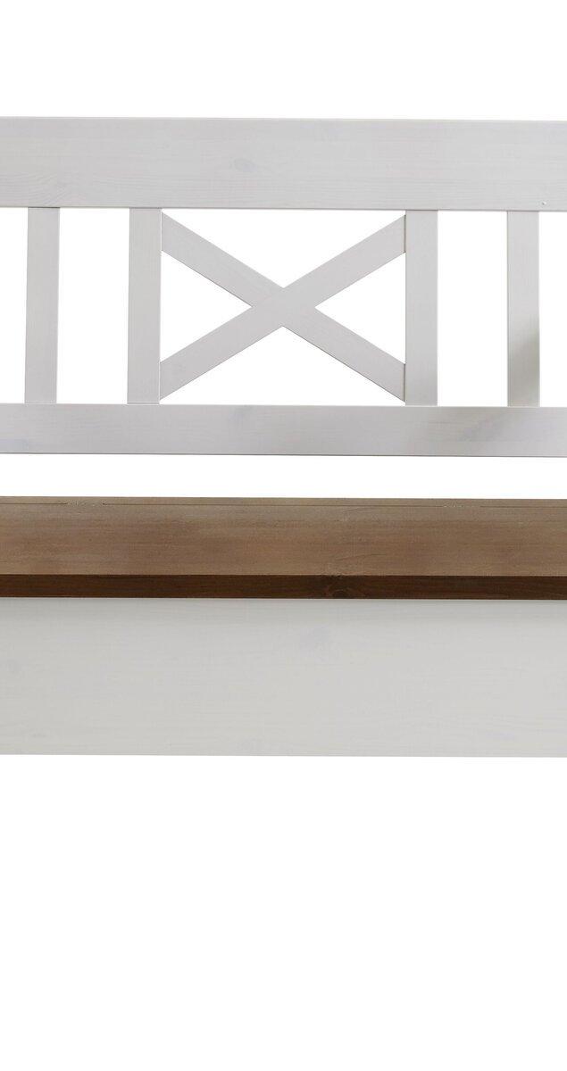 Sitzbank Fjord 105 cm mit Armlehnen, Bild 9