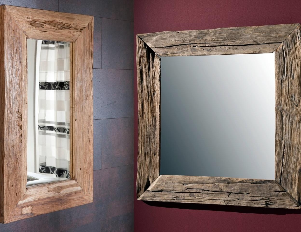 teakholz spiegel unikat von henke g nstig bestellen skanm bler. Black Bedroom Furniture Sets. Home Design Ideas