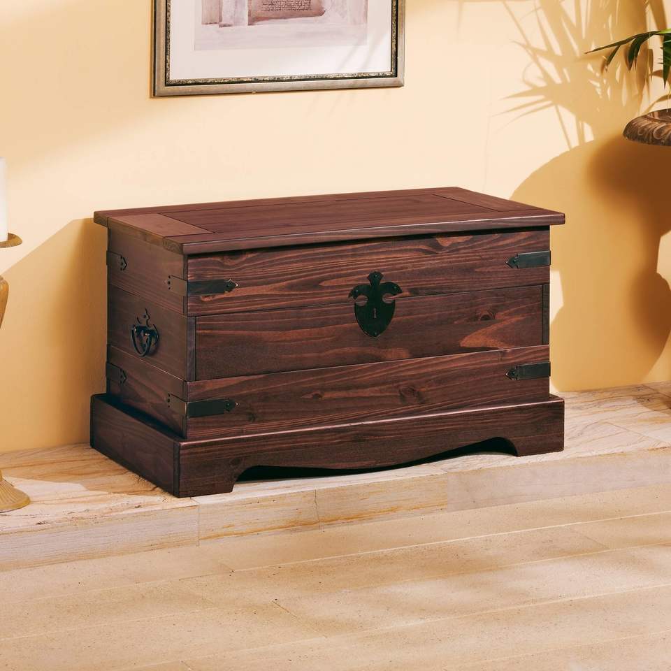 truhe mit geradem deckel von henke g nstig bestellen skanm bler. Black Bedroom Furniture Sets. Home Design Ideas