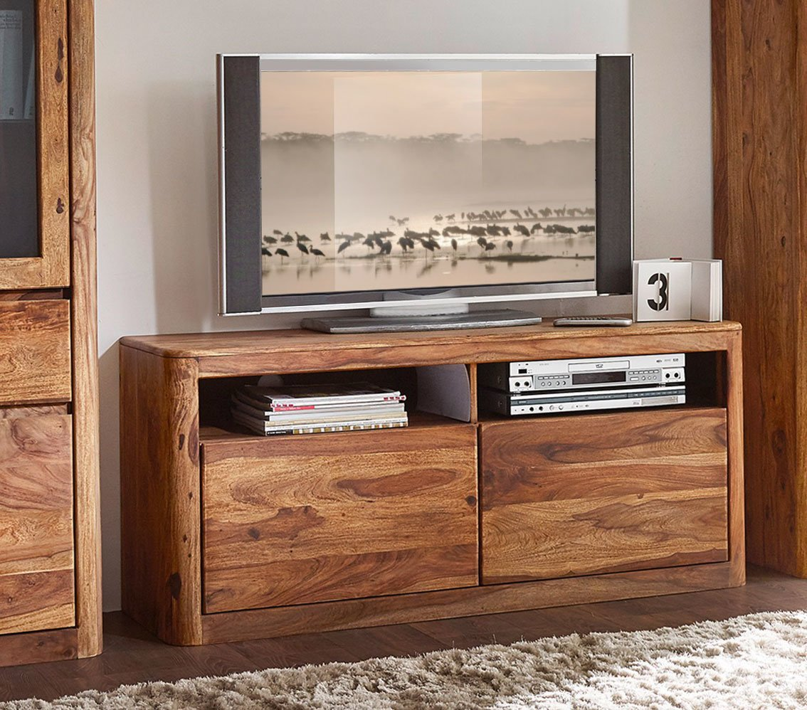 TV-Board New York Sheesham Massivholz, Bild 2
