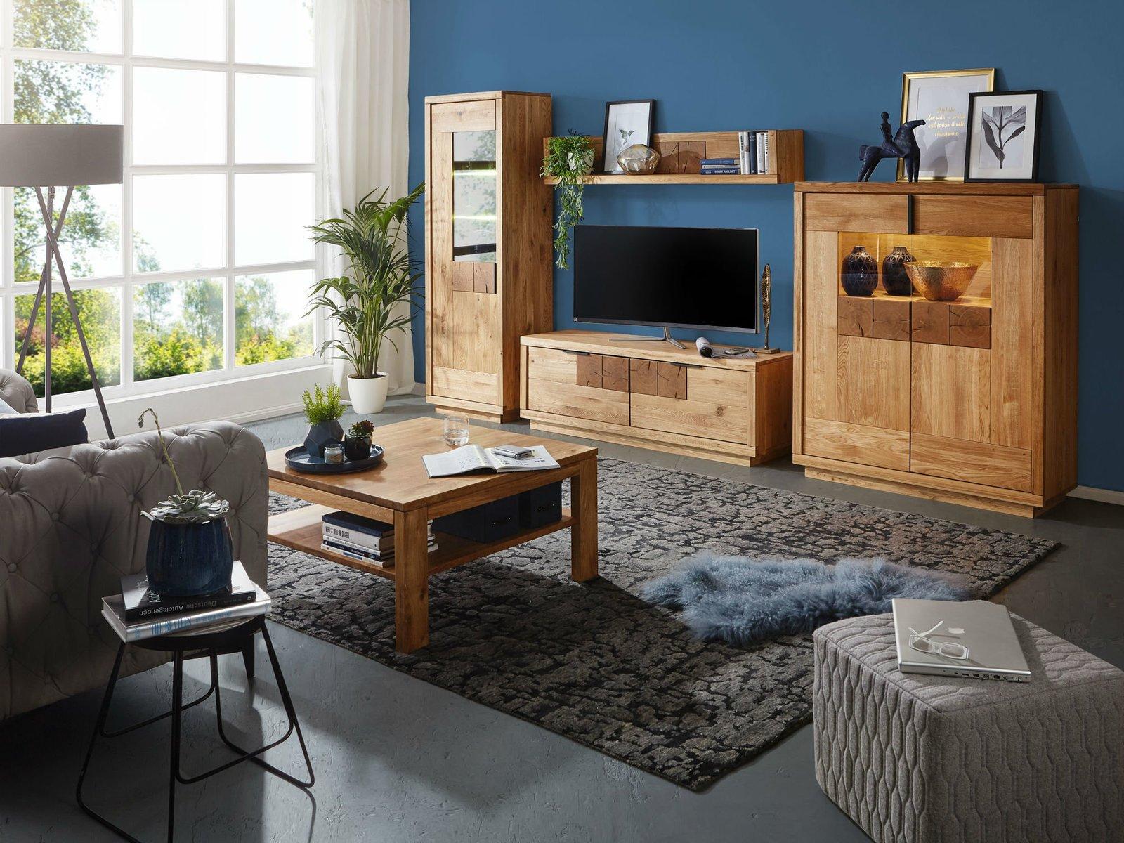 TV Element I Hulsig Massive Wildeiche, Bild 3