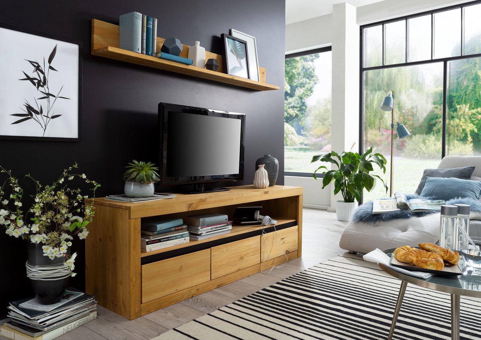 TV Element II Randers Massive Kiefer, Bild 6