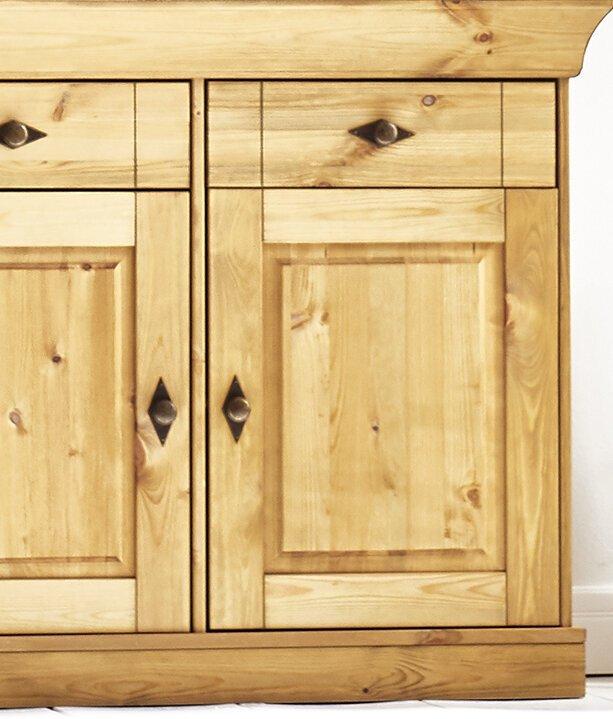 Vitrine mit 2 Holztüren Landhaus Fjord, Bild 5