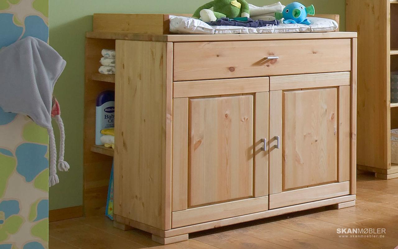 wickelkommode guldborg kiefer massiv von pinus g nstig bestellen skanm bler. Black Bedroom Furniture Sets. Home Design Ideas