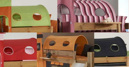 Ausguck Dach für Kinderbett Moby