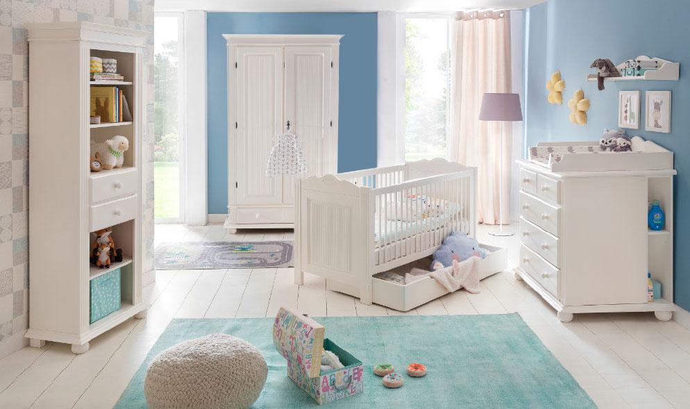 Babyzimmer Freiburg Landhaus altweiss