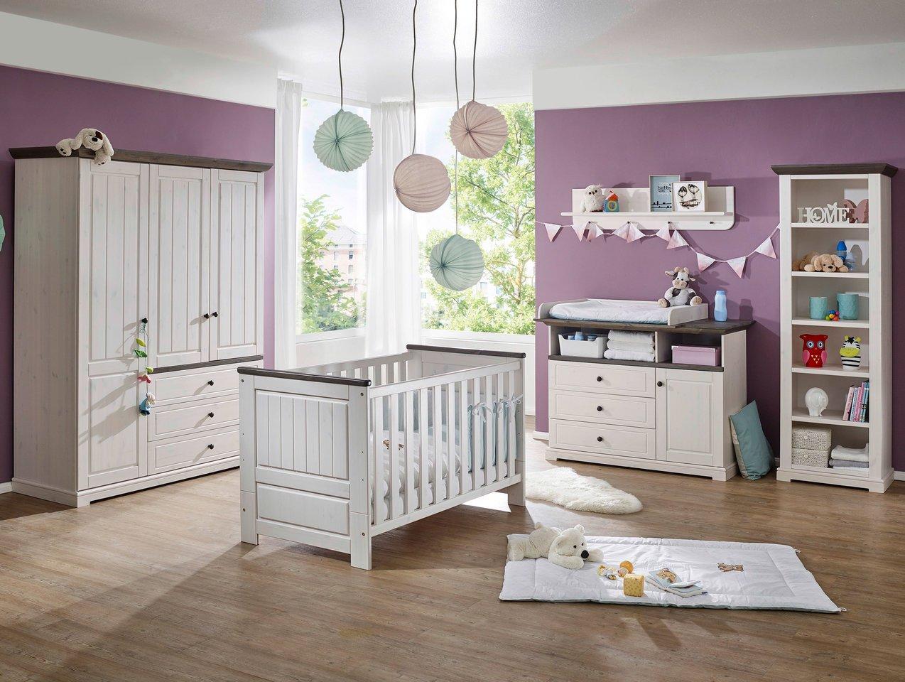 Babyzimmer Jolina Kiefer Massiv Landhausstil