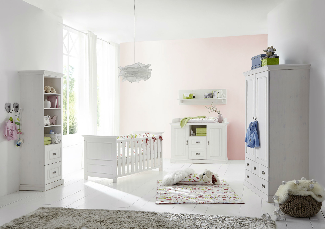 Babyzimmer Odette Kiefer massiv