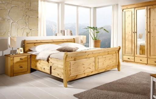 schlafzimmer betten aus massivholz bei skanmØbler, Schlafzimmer