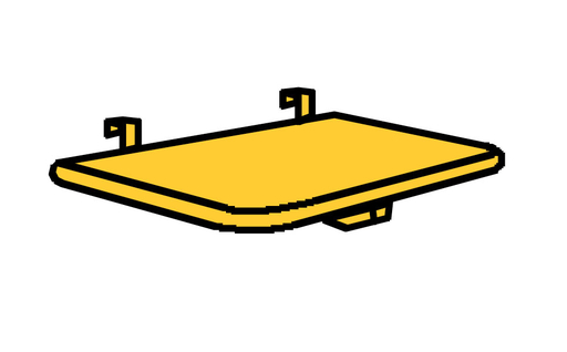 Bettablage passend für Moby Betten