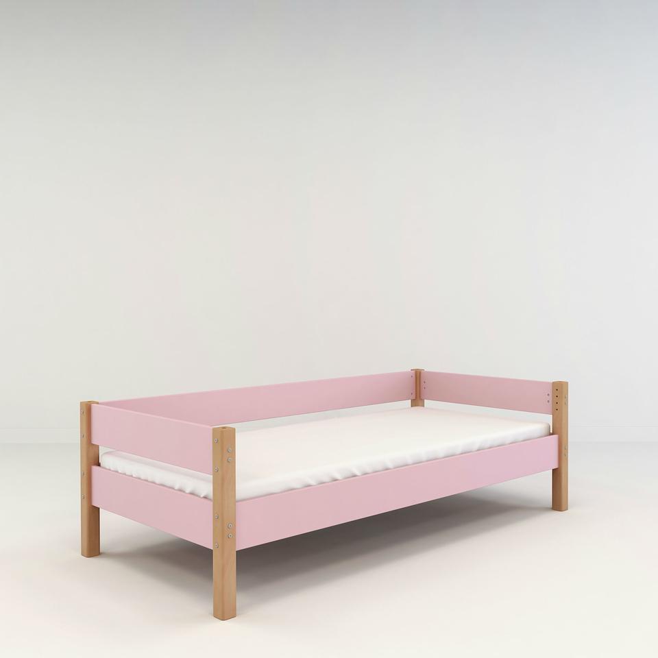 Colorland Jugendbett Kinderbett aus Buche & MDF