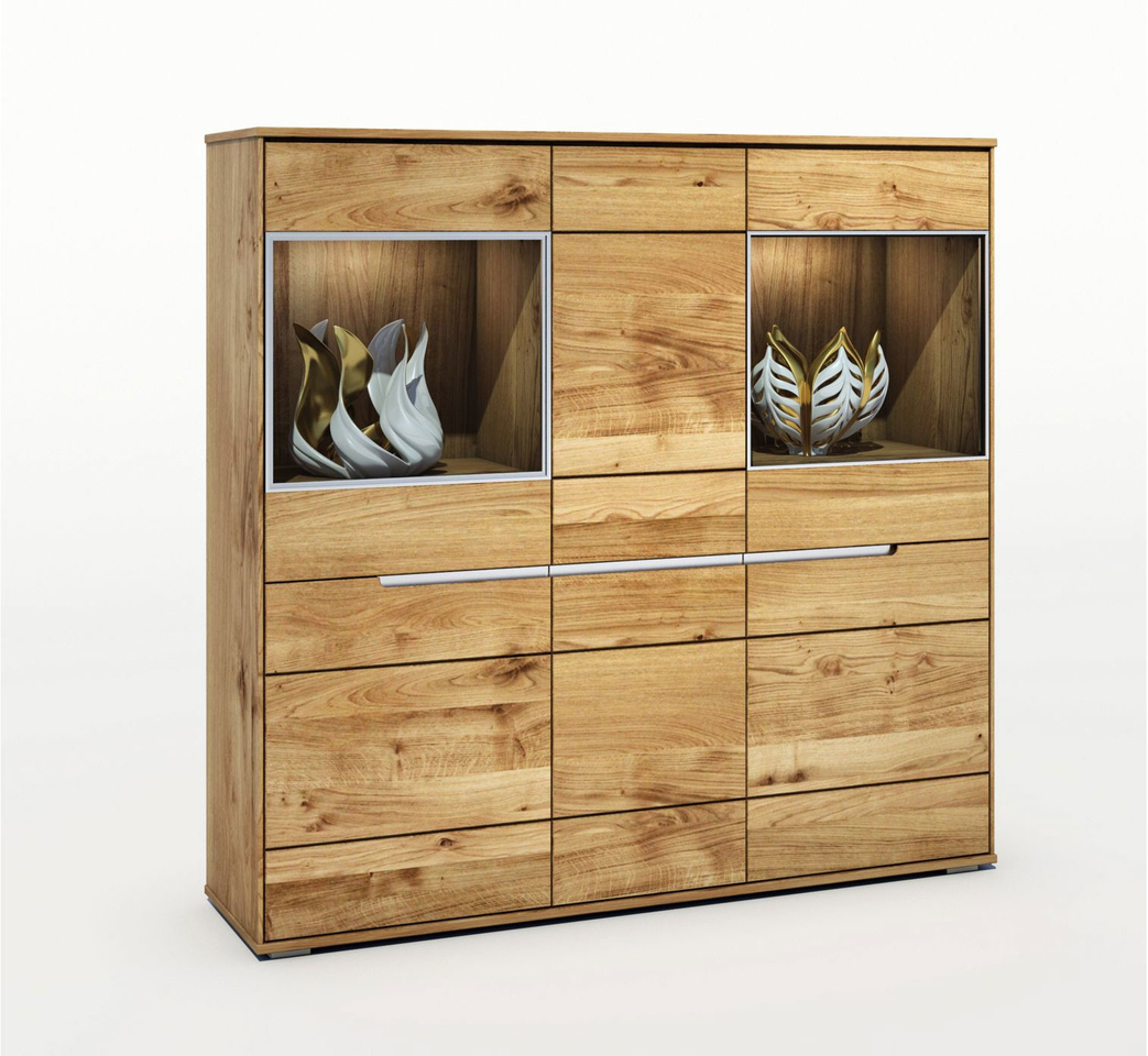 Elfo Highboard Lissy Massivholz