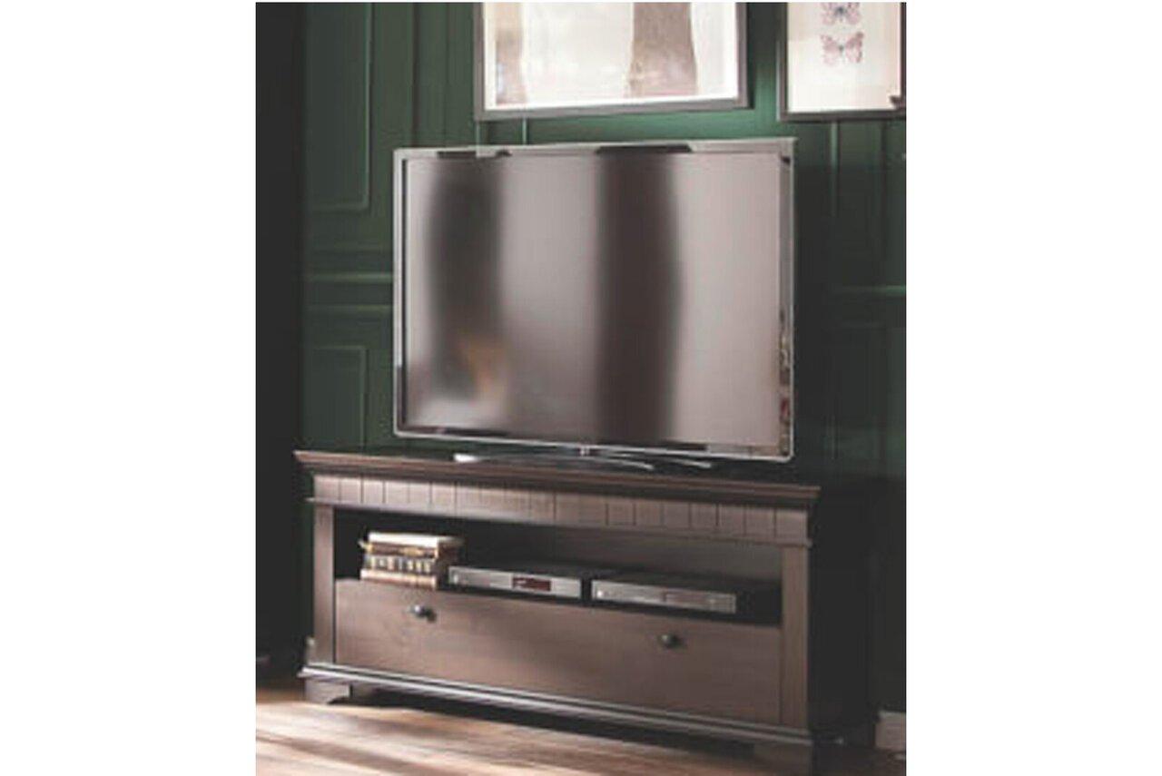 TV Board Lyon Kolonial aus massiver Kiefer