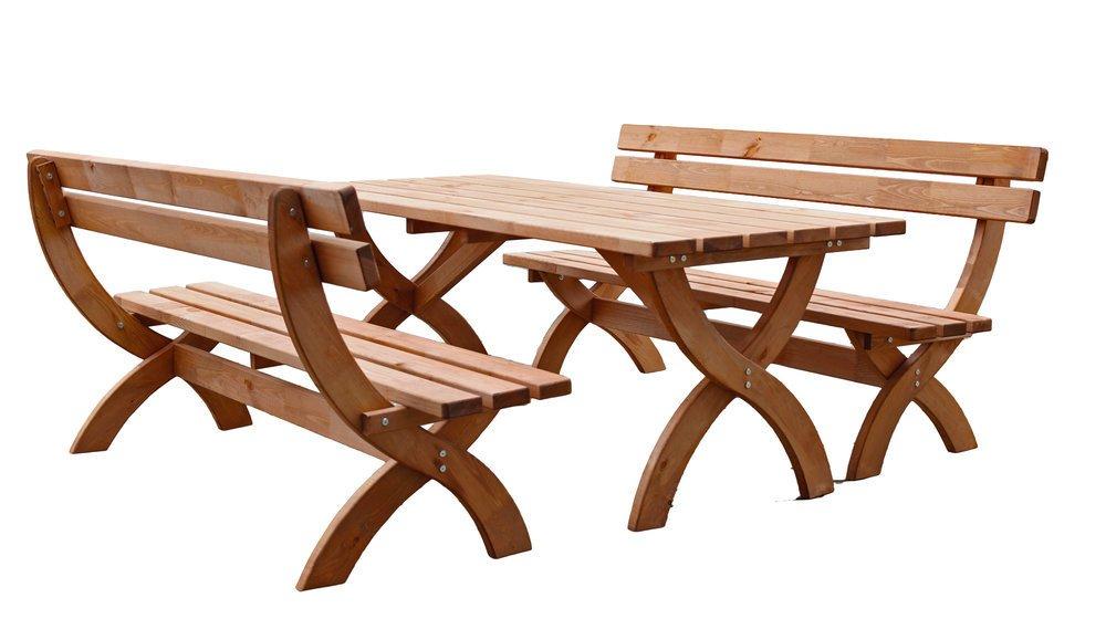 Garten Holz Sitzgruppe MOSEL Kiefer