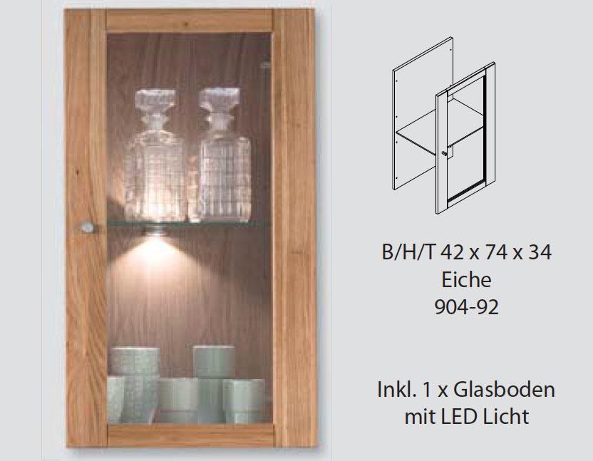 Glastür Element doppelt für Regalwürfel System DIRG