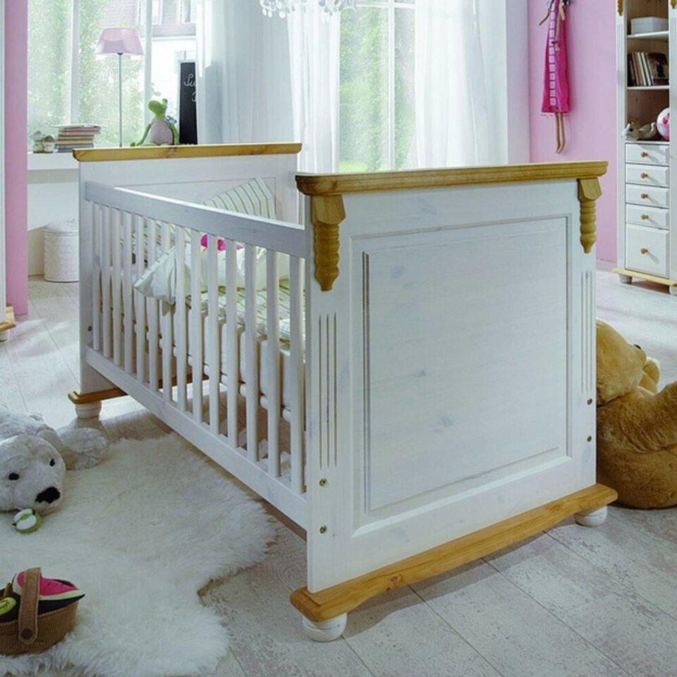 Kinderbett Romantik aus massiver Kiefer