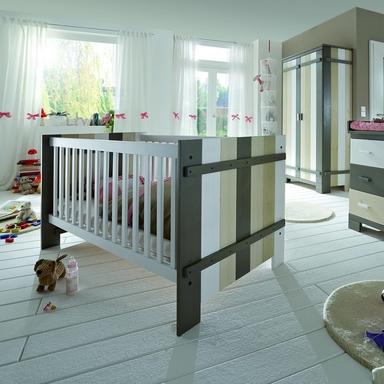 Kinderzimmer Babybett Merlin multicolor