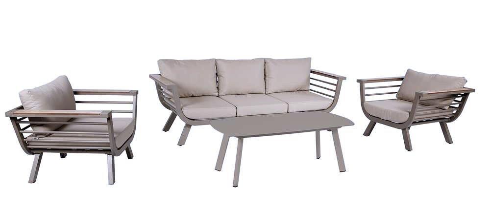 Lounge-Gruppe AROA taupe