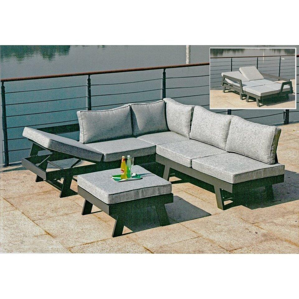 Lounge-Set DONNA aus Aluminium