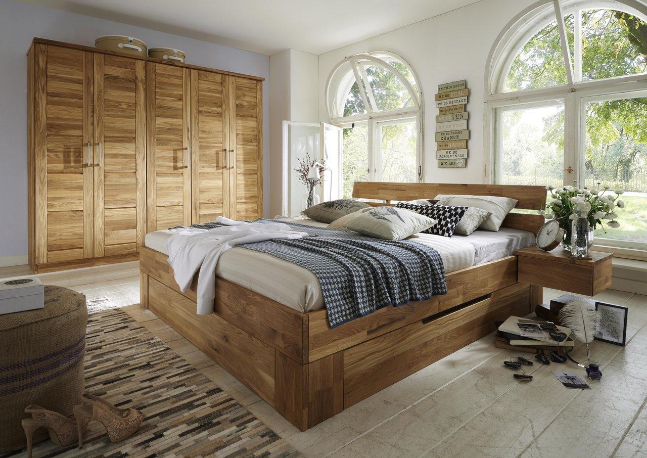 Schlafzimmer Trondheim Wildeiche