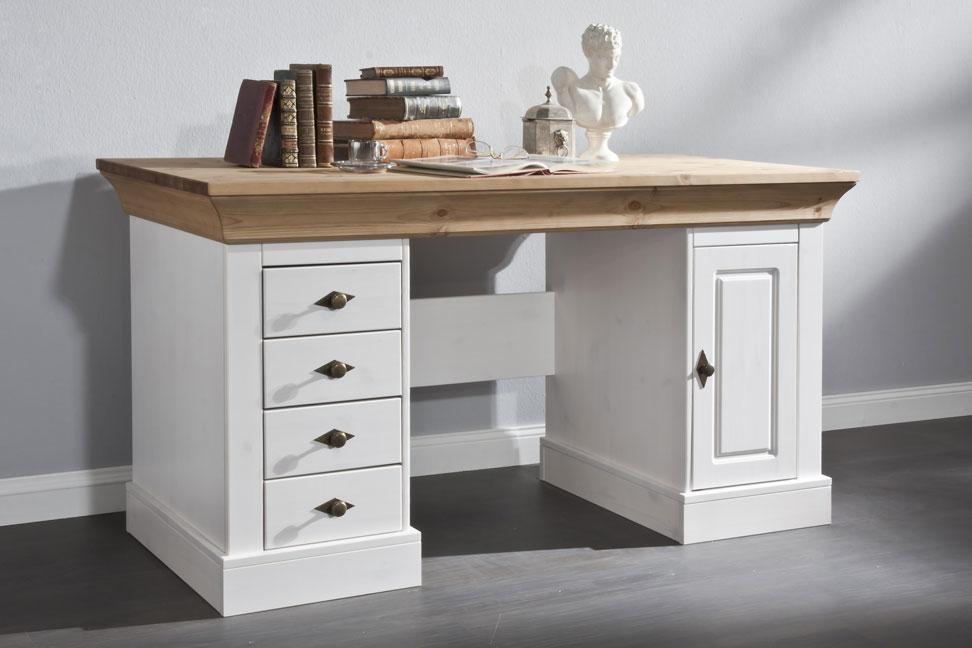 Schreibtisch Bergen Landhausstil