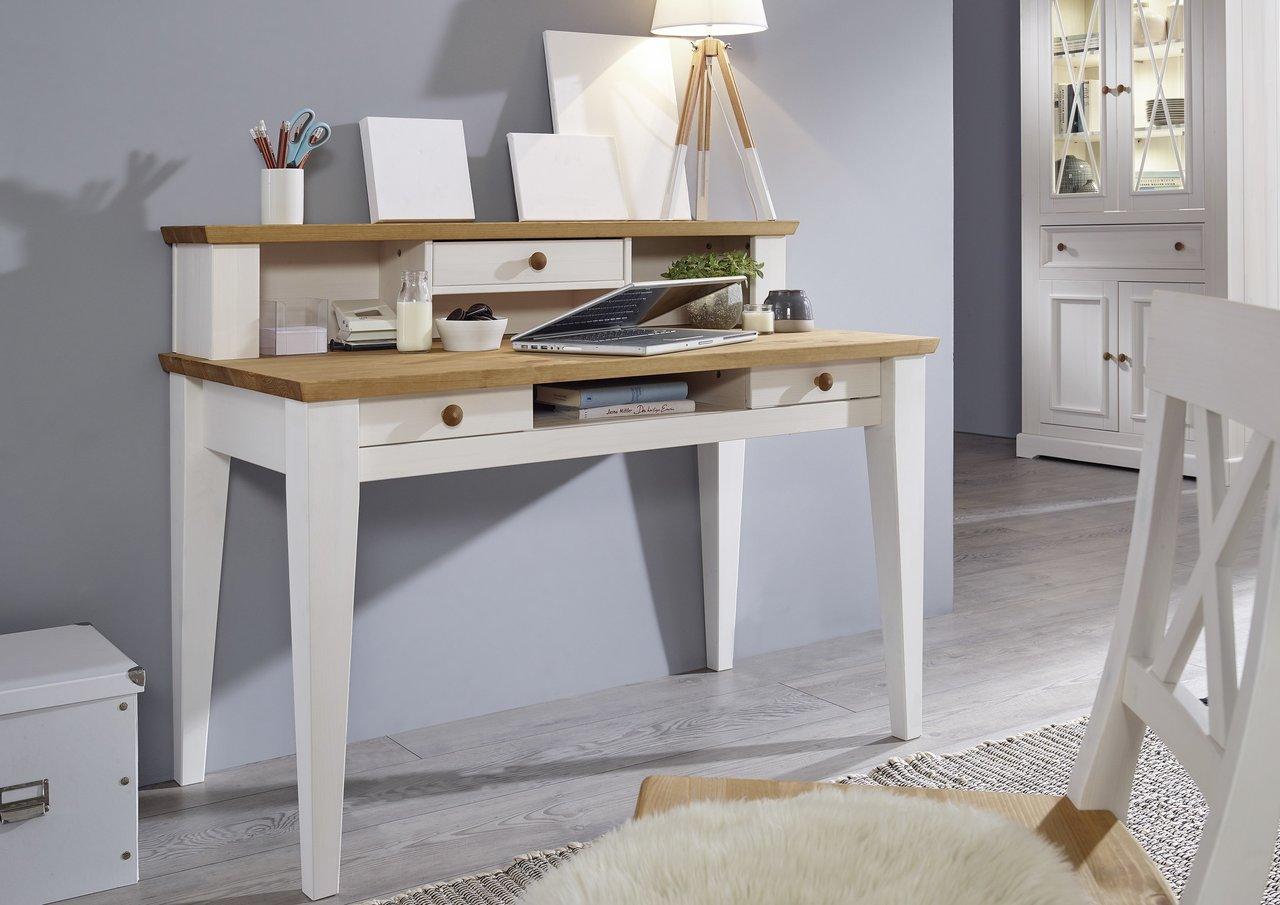 Schreibtisch Viborg Kiefer Massiv